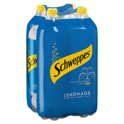 Schweppes Lemonade 4 x 2L
