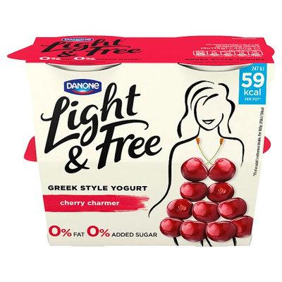 Light & Free Greek Style Cherry Yogurt 4 x 115 (460g)