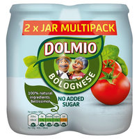 DOLMIO® Sauce for Bolognese No Added Sugar 2 x 500g