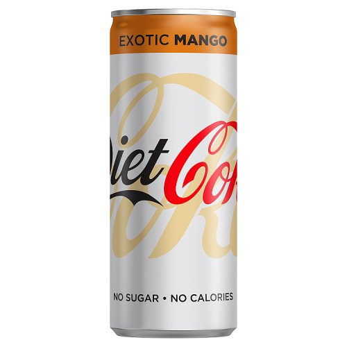 Diet Coke Exotic Mango 250ml