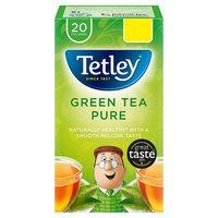 Tetley Pure Green Tea Bags PMP x20