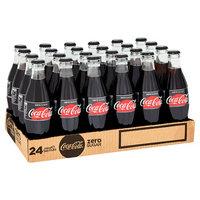 Coca-Cola Zero Glass Bottles 330ml (Pack of 24)