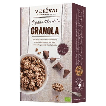 Verival Organic Crunchy Chocolate Granola Cereal 375g