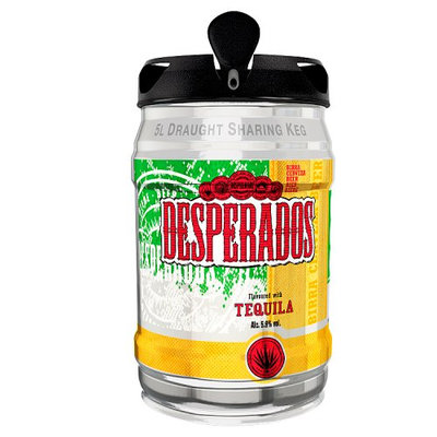 Desperados Beer Flavoured with Tequila 5L Keg