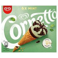 Cornetto Mint Ice Cream Cone 6 x 90ml