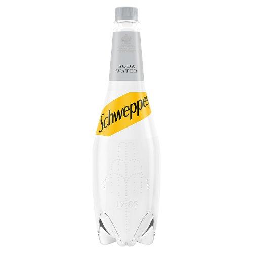 Schweppes Original Soda Water 1L