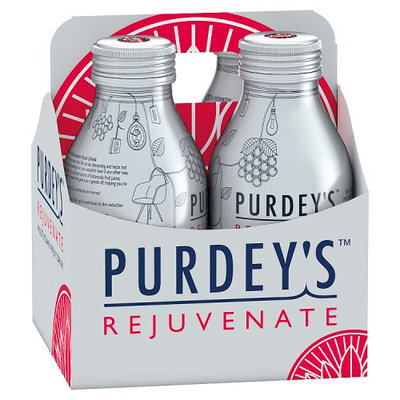 Purdey's Rejuvenate Multivitamin Fruit Drink 4 x 330ml