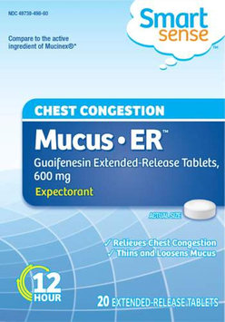 Mygofer Mucus Chest Congestion ER 600mg Tabs 20 ct