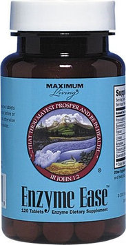 Maximum Living, Inc. Enzyme Ease, 120 tablets