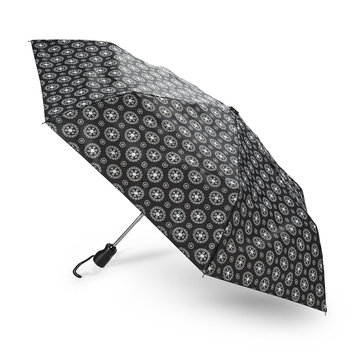 Totes Incorporated Mini Automatic Umbrella - Striped