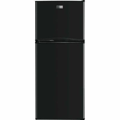 Frigidaire Company 11.5 cu. ft. Top Freezer Refrigerator - Black