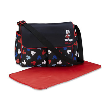 Cudlie Mickey Mouse Infant's 3-Piece Diaper Bag Set - Silhouettes