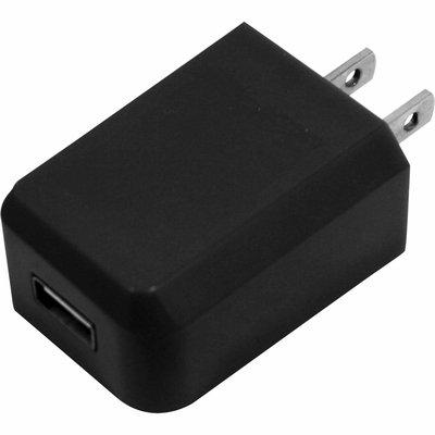 1-Amp Mini USB AC Charger - Black