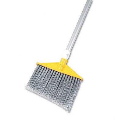 Rubbermaid RCP 6385 GRA Angled Brooms- Aluminum