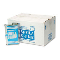 Sheila Shine Stainless Steel Cleaner and Polish, 1 Quart Can, 12 Cans per Carton