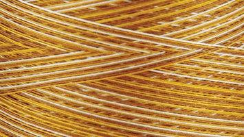 Gutermann Natural Cotton Thread Variegated 3,281 Yards-Butternut
