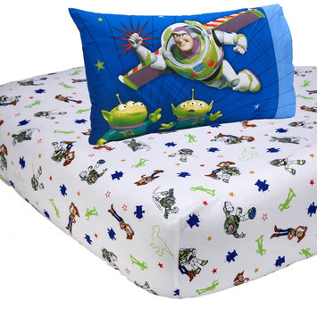 Desigual Toy Story 2 Piece Sheet Set - CROWN CRAFTS INFANT PRODUCTS, INC.