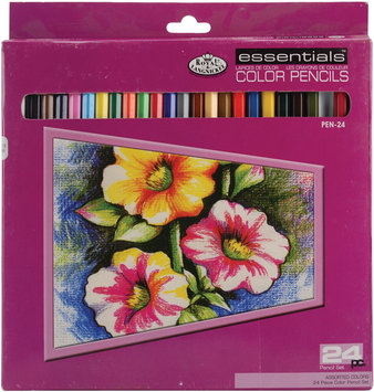 Royal Brush Color Pencils, 24-Pack