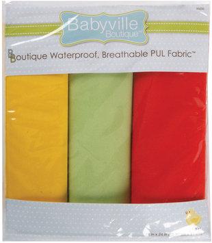 Drz Dritz Babyville Neutral Waterproof Diaper Fabric, 3-Pack