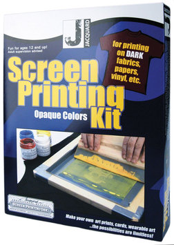 Jacquard Products Screen Printing Kit - Opaque Colors