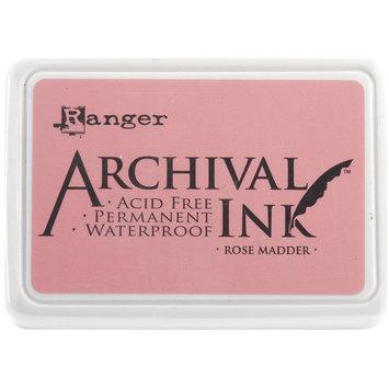 Ranger 489068 Archival Inkpad No. 0-Rose Madder