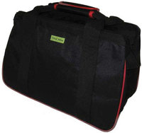 JanetBasket Black/Red Eco Bag-18 X10 X12