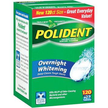 Block Drug Company, Inc. Overnight Whitening Tablets Denture Cleanser