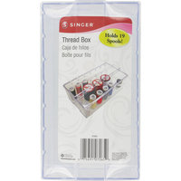 Singer 88260 Clear Plastic Thread Box