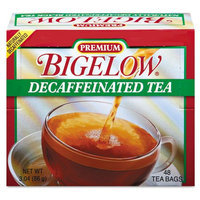 Bigelow Single Flavor Tea, Decaffeinated Black, 48 Bags/Box - BTC00356