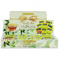 Neovision, Inc. Green Tea Assortment, 64 Bags/bx; Assorted Styles