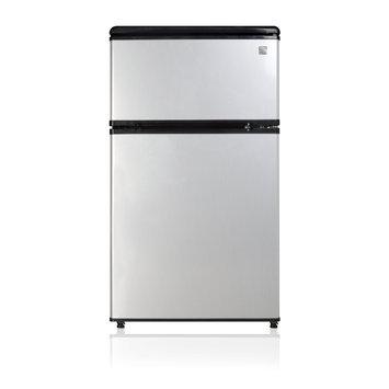 Kenmore 3.1 cu ft. 2-Door Compact Refrigerator, Stainless Steel
