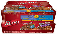 Alpo Prime Slices in Gravy Beef Lovers Variety Pack Canned Dog Food