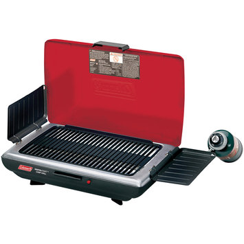 Coleman 1 Burner Portable Grill Red/Black