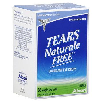 Alcon Laboratories, Inc Tears Naturale Free Lubricant Eye Drops, 32 vials