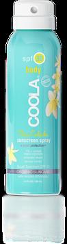 COOLA Travel Size SPF 30 Pina Colada Organic Sunscreen Spray