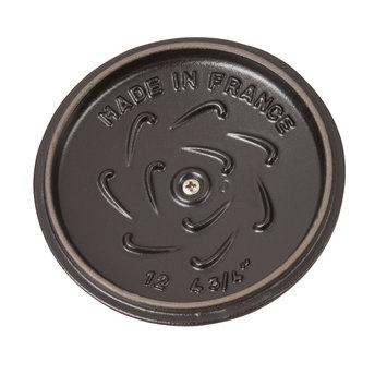 Staub Cast Iron 0.75-qt Petite French Oven - Matte Black