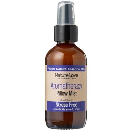 Nature Love Stress Free Aromatherapy Pillow Spray Mist Lavender Geranium Lemon