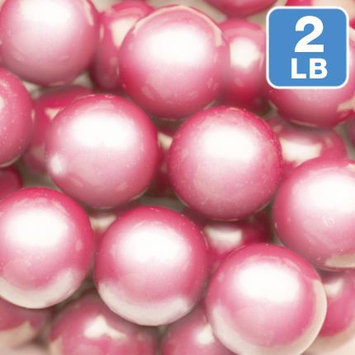 Sweetworks Confections, Llc Shimmer Pink Gumballs 2lb (Each)