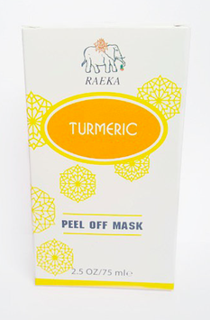 RAEKA Turmeric Peel-Off Face Mask