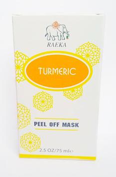 RAEKA Turmeric Peel-Off Face Mask