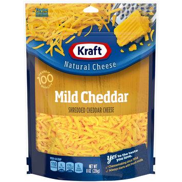 Kraft Shredded Mild Cheddar Natural Cheese