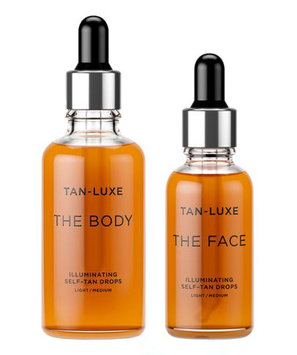 Tan-luxe Face and Body Duo (25% saving) Light To Medium