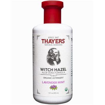 Thayers Witch Hazel Aloe Vera Formula Organic Astringent - Lavender Mint, 12 oz
