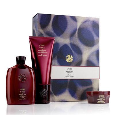 Oribe:a Oribe Beautiful Color Collection Shampoo 8.5oz Conditioner 6.8oz and Masque 1.7oz