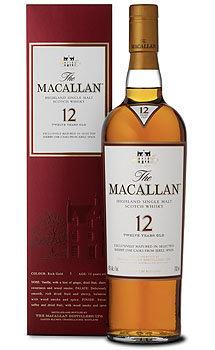 The Macallan 12 Year Old Single Malt Sherry Oak