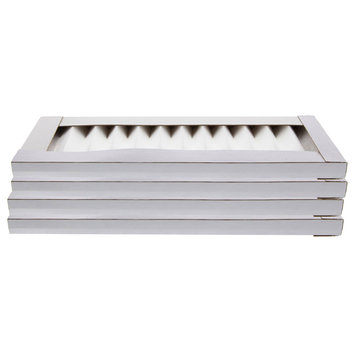 Tier1 3M Filtrete FAPF00 Comparable Replacement 5x13x1 Ultra Quiet Air Purifier Filter 4 Pack