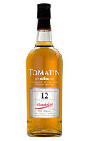 Tomatin Scotch Single Malt 12 Year French Oak