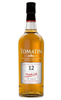 Tomatin Scotch Single Malt 12 Year French Oak