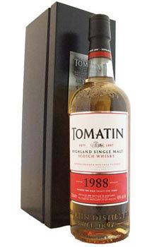 Tomatin Scotch Single Malt 1988