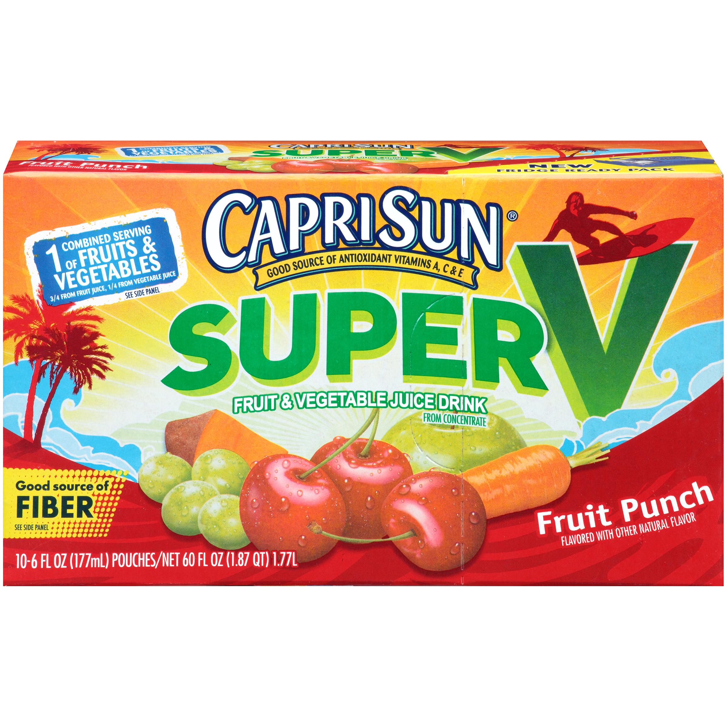 Capri Sun Super V Fruit Punch